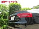 ★色番号塗装発送Audi A5 | トランクスポイラー / リアリップスポイラー【バランスイット】AUDI A5 SPORTSBACK (2008〜) トランクスポイラー FRP