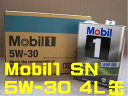60 canned 1 Mobil1 Mobil engine oil SN /GF-5 5W-30 / 5W30 4L (canned 4 liters) postage size