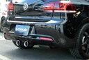 einsatz(アインザッツ) s622マフラーVolkswagen GOLF6 Rテール:Type1(真円カールタイプ)送料160サイズ