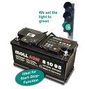 MOLL/モル m3plus バッテリー75Ah 型番:83075送料60サイズ
