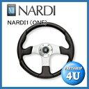 【正規品】【NARDI】【1(ONE)】【350φ】【N820】75th Anniversary Line【ブラックレザー/SILスポーク】【ステアリング】【ハンドル】…