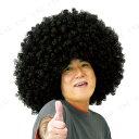 ビッグバンアフロ Aブラック パーティーグッズ 仮装 変装グッズ かつら ウィッグ 髪 ハロウィン アフロヘアー