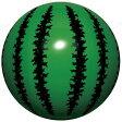 【あす楽】ビーチボール 40cm スイカボール♪アウトドア・ビーチグッズ 浮き輪 浮輪 うきわ ビーチボール