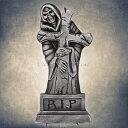 あす楽対応 Uniton 60cm 墓石 グリムリーパー ハロウィングッズ パーティーグッズ 飾り 装飾 墓地 墓標 お墓 怖い デコレーション 雑貨 小物 ホラーディスプレイ 置物 オブジェ 演出用品