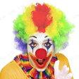 アフロウィッグ レインボー ハロウィン コスプレ 大人用 パーティーグッズ 変装グッズ かつら 髪 イベント・装飾 イベントコスチューム クラウン 道化師 ピエロ_hw16_mn07 ぴえろ アフロヘアー ウィッグ_hw16_mk05 サンタクロース