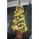 送料無料 セットツリー マドンナ 四角ポット付 120cm LEDライト付き クリスマスツリー 91〜120cm