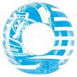 浮輪90cm ボーダーマリン♪アウトドア・ビーチグッズ 浮き輪 浮輪 うきわ ウキワ 86cm〜100cm 大人用
