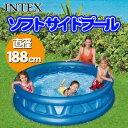INTEX(インテックス) ソフトサイドプール 188cm ...