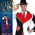 CLUB KING Trump suit(トランプスーツ) ハロウィン 仮装 衣装 コスプレ コスチューム 大人用 メンズ 男性用 マッドハッター 帽子屋 マジシャン 魔術師 怪人 不思議の国のアリス ハロウィーン