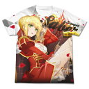 Fate/EXTRA Last Encore セイバー フルグラフィックTシャツ XL 【 Fate/stay night カットソー トップス FGO 服 Fate/Grand Order 】