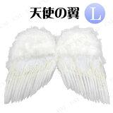 天使之翼(长) - 化装天使服饰服装服饰天使仙女;[【即納】ハロウィン 仮装衣装 変装グッズ♪天使の翼 (L)]