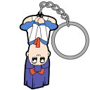 ポプテピピック ピピ美(逆) つままれキーホルダー 【 ぽぷてぴぴっく アニメ キャラクターグッズ ゲーム 漫画 】