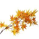 [2点セット] 90cmスプレー 紅葉 仲秋 造花挿花(さしばな) 人工観葉植物 一輪挿し 【 インテリアフラワー フェイクフラワー アートフラワー 】