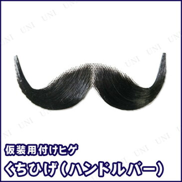 口髭・ひげ(政治家 ブラック) コスプレ プチ仮装 変装グッズ ハロウィン 衣装 パーティーグッズ