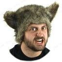 あす楽対応 ウルフキャップ(狼男) ハロウィン 仮装 衣装 変装グッズ コスプレ パーティーグッズ コスチューム アニマル 帽子 ぼうし かぶりもの パーティーハット 動物マスク