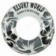 【あす楽】浮輪120cm モノハイビスカス♪アウトドア・ビーチグッズ 浮き輪 浮輪 うきわ 浮き輪 浮き輪 大人用 うきわ 101cm〜120cm 大人用