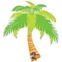 楽天バルーンとPartyのイベントシティ【お得バルーンパック】LSHP サマーシーンパームツリー ヤシの木 やしの木 【5枚1パック】ANG28950【ネコポスOK】