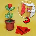 ◆マジック・手品◆ハンカチから出現するバラ◆F5288