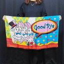 ◆マジック・手品◆デザインシルク「グッバイ」(特上品 Mサイズ)約90 x 56cm ◆S8411