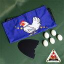 ◆マジック・手品◆鶏と卵 (プラ製タマゴ 5個セット+?付) ◆T7163