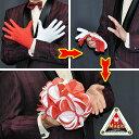 ◆マジック・手品◆花束と紅白手袋 ◆T7221