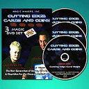 ●手品・マジック関連●カッティングエッジ カード&コイン DVD 3巻セット●ET-38