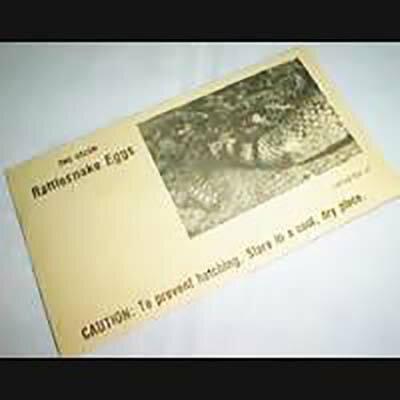 ●手品・マジック関連●生ける化石謎のコブラ●I-01