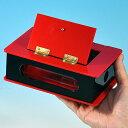 ◆マジック・手品◆ミニ シースルー回転箱◆V5649