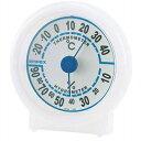 EMPEX 温度・湿度計 シュクレ温度・湿度計 TM-5521 クリアホワイト【取り寄せ品キャンセル返品不可、割引不可】