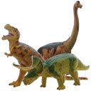 大感謝価格『ビニールモデル人気恐竜3体セット FDS-0002 70639-70640-70670』【7月上旬出荷】『メーカー直送品。代引不可 同梱不可 返品キャンセル 割引不可』フィギュア おもちゃ 飾る プレゼント ビニールモデル人気恐竜3体セット