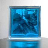 【ガラスブロック190x190x95日本基準サイズ スカイ ブルー】(割引サービス対象外)インテリア 人気 おしゃれ アイテムグッズ【メーカー直送品。代引・同梱・返品・キャンセル・