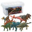 【大感謝価格】恐竜 ダイナソーソフトモデルセット 6体入り Aセット FDW-101 73314