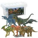 【メーカー直送品】【大感謝価格】恐竜 ダイナソーソフトモデルセット 6体入り Bセット FDW-102 73315