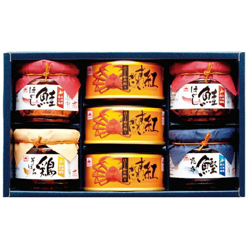 マルハニチロかに缶・瓶詰セット BZ-5ipa-2281-056F-80(割引サービス不可、取り寄せ品キャンセル返品不可、突然終了欠品あり)10P03Dec16