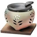 【大感謝価格】山房丸三つ足茶香炉窯変 Y-1907 径11×高さ9.5cm