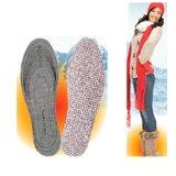 【サニースキニー ハッピーインソールHOT(3足組 アルミタイプ)】(割引サービス対象外)6個で送料無料代引無料8個で梱包時に1個多く入れてプレゼント暖かい靴の中敷き★ポイント10P03Dec16