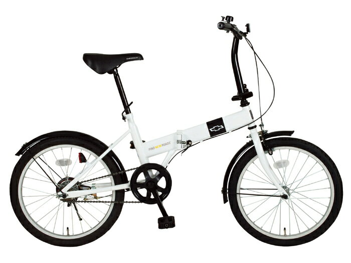 『CHEVROLET(シボレー)FDB20R/20インチ折畳自転車 ホワイト』メーカー直送品。・同梱・返品キャンセル・割引(北海道・沖縄・離島は別途送料発生)アウトドア 自転車 10P03Dec16 『CHEVROLET(シボレー)FDB20R/20インチ折畳自転車 ホワイト』アウトドア 自転車『CHEVROLET(シボレー)FDB20R/20インチ折畳自転車 ホワイト』