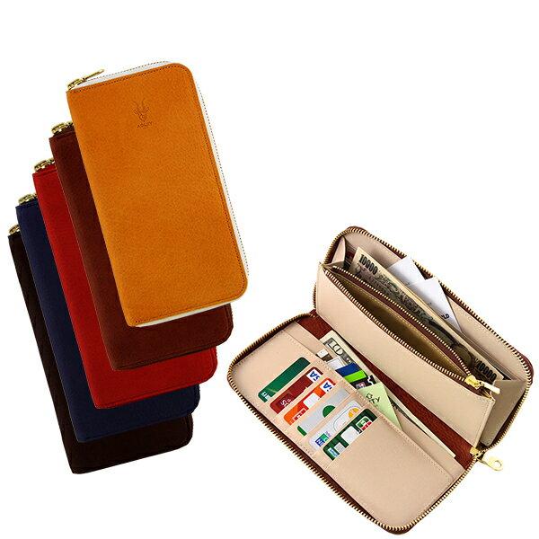 【セール】軽くて丈夫なヤク革の縦型長財布【AGILITY affa(アジリティ アッファ)】『バゲット(全5色)』【長財布 ラウンドファスナー たて型 ロングウォレット 日本製 本革 レザー ヤク革 小銭入れあり 手作り】(1107)【1707】 タテ型のラウンドファスナー長財布 希少なヤク革を使用しました。鹿革のようなソフトなタッチが特長。カードポケットは10枚分。