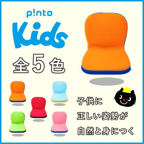 【送料無料】p!nto kids 全5色 子供の姿勢を考えたクッション 座布団 (pinto kids)ピントキッズ【座椅子 骨盤 姿勢 猫背 椅子 イス チェア 学習】