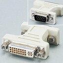エレコム DVI-I変換アダプタ DVI29ピンメス - D-Sub15ピン(ミニ) オス [AD-DVFTD15M]|| ELECOM