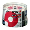 TDK DVD-Rホワイト・ディスク 16倍速記録対応 ポットケース50枚入り DR47PWC50PS [DR47PWC50PS]