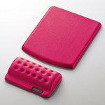 【メール便送料無料】エレコム リストレスト+マウスパッド COMFY(カンフィー) ピンク MP-114PN [MP-114PN]|| ELECOM