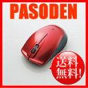 【送料無料】エレコム Bluetooth(R)4.0対応5ボタンBlueLEDワイヤレスマウス レッド M-BT11BBRD [M-BT11BBRD]【smtb-k】【w2】