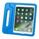 サンワサプライ iPad 9.7インチ  衝撃吸収ケース 青...