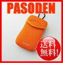 【メール便送料無料】エレコム スマートフォン用ソフトポーチ オレンジ P-01NCDR [P-01NCDR]|| ELECOM