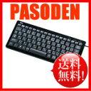 サンワサプライ USB&PS/2キーボード スリム ブラック テンキー無し [SKB-SL10BK]【パンタグラフキーボード・有線キーボード・USBキーボード・】