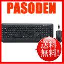 【あす楽】サンワサプライ 2.4GHz マウス付きワイヤレスキーボード ブラック [SKB-WL18SETBK]【無線キーボード】