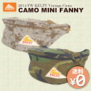 【数量限定セール中】FW KELTY Vintage Como CAMO MINI FANNY(ケルティ カモ ミニ ファニー 復刻版 ヴィンテージ コモ 迷彩 ボディバッグ ウエストバッグ 2592042)【送料無料 在庫有り】【あす楽】