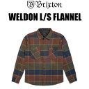 『送料無料』BRIXTON/ブリクストン/アウター/シャツ/ジャケット/WELDON L/S FLANNEL