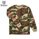 ショッピングスノーボード 【18-19】BRIXTON ブリクストン SLICE II L/S STANDARD TEE ロンT Tシャツ スノーボード CAMO カモ 迷彩 正規品
